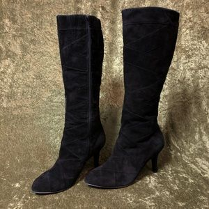 Taryn Rose Shoes - 💞Taryn Rose Height black suede heeled boots